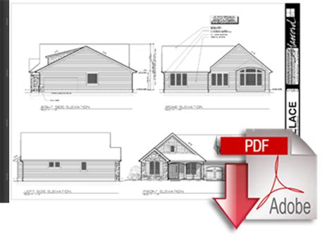 construction house plans plan packages