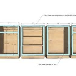 build kitchen cabinets free plans plans for kitchen