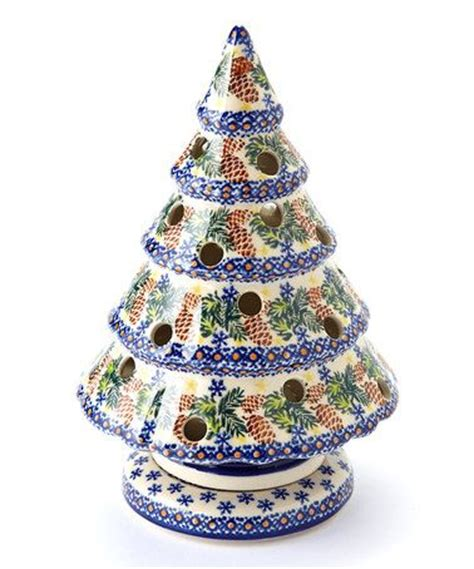 231 best pottery christmas tree candle holders images on