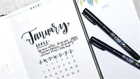 Diy Backyard Projects Pinterest Bullet Journal January 2018