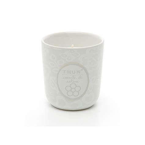 candele thun candela in vasetto piccola quot coccole di cotone quot thun