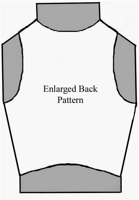vest template spark fiber arts thoughts on a felt vest