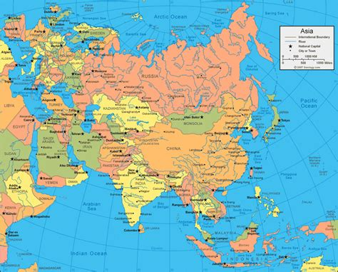 world map rivers oceans lakes asiamap southeastasia map eastasia map 点力图库