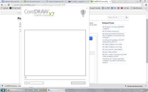 corel draw x5 not installing windows 7 problems with trial installation coreldraw graphics