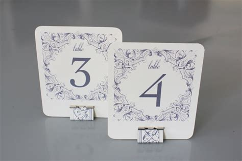 how to make table number cards diy table numbers holders the budget savvy