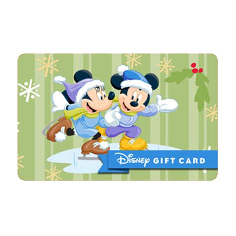 Disney Store Gift Card Balance - your wdw store disney collectible gift card mickey minnie skating