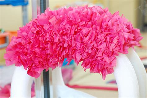 How To Make A Tissue Paper Wreath - flipawoo invitation and designs tissue paper