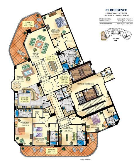 luxury floor plans bella mare williams island luxury condo for sale rent