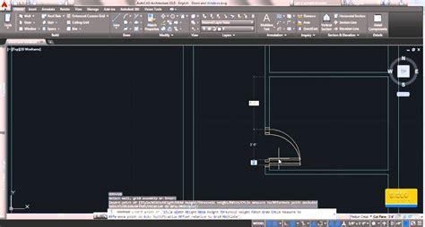 autocad tutorial windows autocad architecture sinhala tutorial 03 adding doors