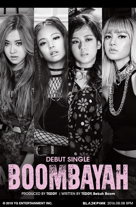 blackpink boombayah lyrics blackpink reveals debut track title teaser soompi