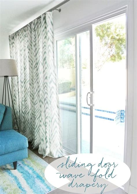 curtains to cover sliding glass door best 25 sliding door treatment ideas on pinterest