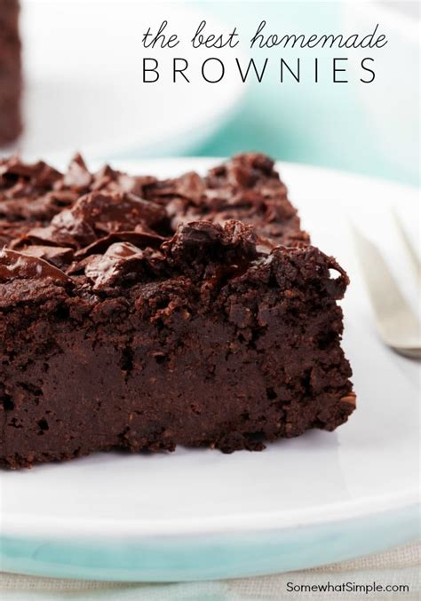 brownies recipe the best one by somewhat