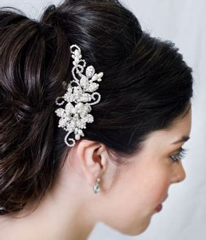vintage bridesmaid hair pieces vintage wedding hair accessories for an
