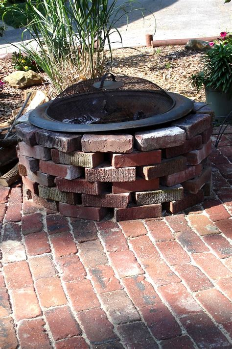 how to brick patio 187 antique brick patio done