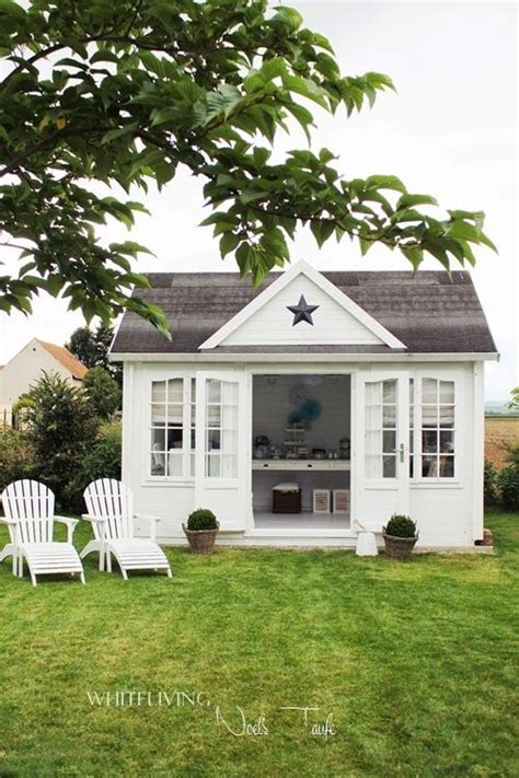 2404 best images about garden sheds on a shed - Gartenhaus Shabby Chic