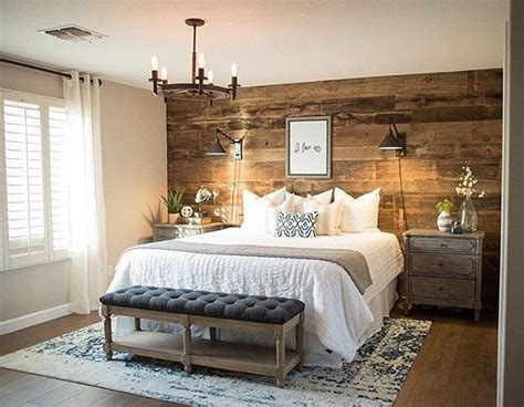 accent wall in master bedroom barnwood accent wall master bedroom inspiration rustic