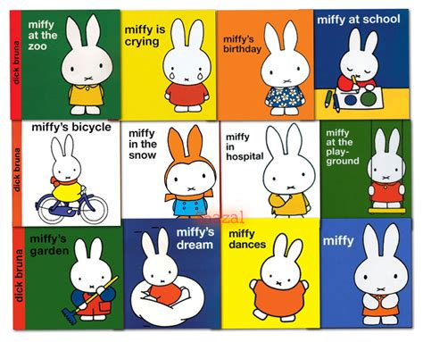miffy classic library collection dick bruna 12 book set ebay