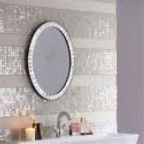 bling bathroom mirrors bling bathroom there s no place like home pinterest