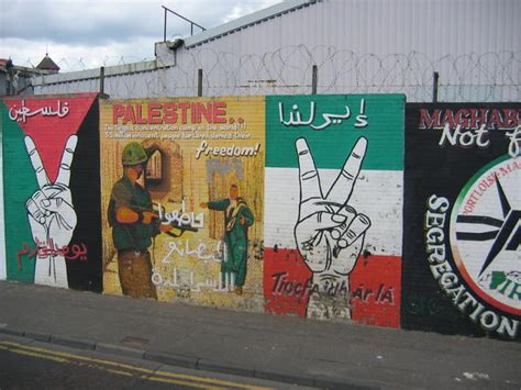 belfast wall murals potd republican murals in belfast northern ireland at