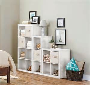 better homes and gardens 15 cube wall unit organizer