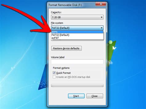 flash disk format hatasi how to format a flash drive as ntfs 8 steps with pictures