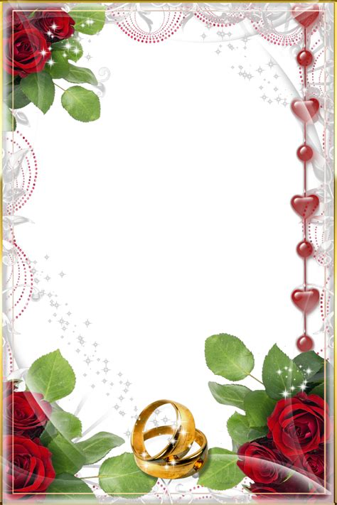 imagenes png para photoshop gratis fondo para fotos de boda 4 bonitos marcos para elegir