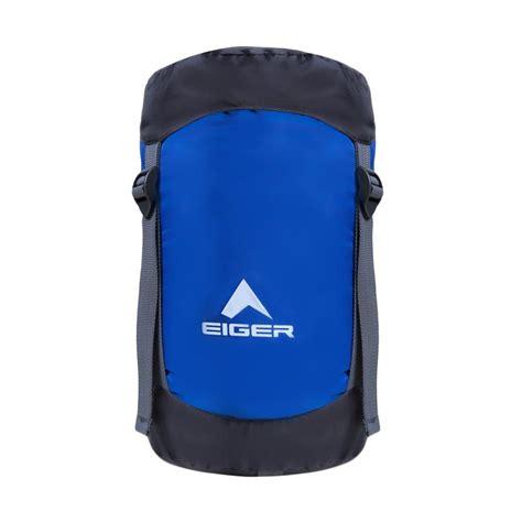 blibli eiger jual eiger wander rectangular sleeping bag blue online