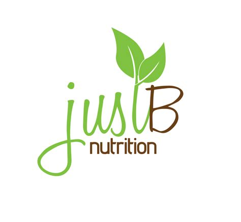 what is the logo for a nutritionist justb nutrition logo joel riddell creative