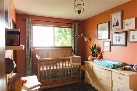 101 Best Orange Nursery Images On Pinterest Orange Orange Nursery Decor