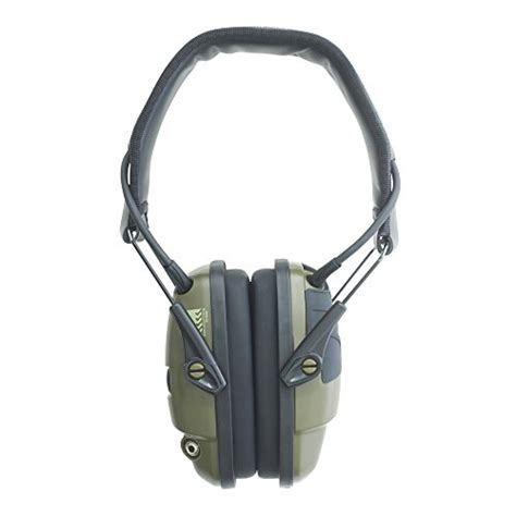 Howard Leight Shooting Combo Earmuffs Glasses Green R 01761 howard leight by honeywell impact sport sound lification electronic shooting earmuff classic