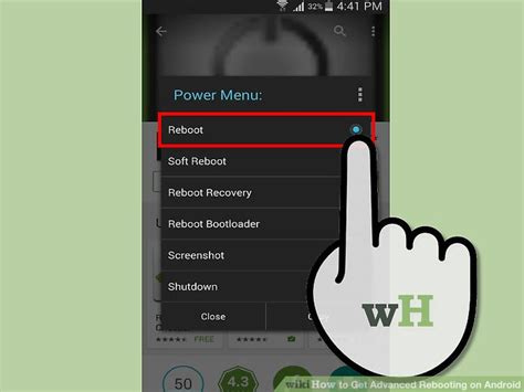 reboot android how to get advanced rebooting on android 6 steps with pictures