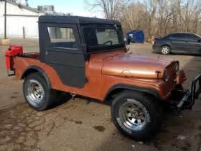 1961 jeep willys cj5 meyer half cab v 6 3 speed