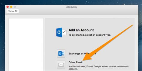 Office 365 Mail To Gmail How To Add Gmail To The New Outlook Office 365 For Mac Os X