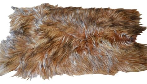 goat rug goat fur rug plate contemporary rugs by curly fur imports