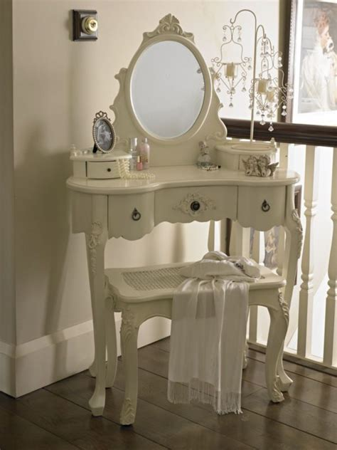 paris shabby chic bedroom dressing table and mirror shabby french style vintage chic