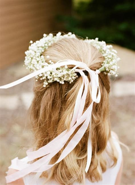 68 flower crown ideas to complete your wedding hairstyle 70 best flower girl ideas images on pinterest marriage