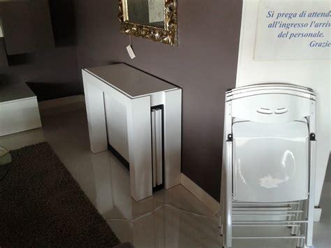 tavoli pieghevoli con sedie incorporate tavolo ozzio tavolo consolle micro scontato 44
