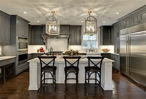 Transitional Kitchen Lighting Charcoal Transitional Kitchen I Thought These Features Fixtures Designs This Gorgeous
