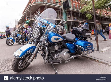Harley Davidson New Orleans Quarter by New Orleans Motorcycle Stock Photo 110295864 Alamy