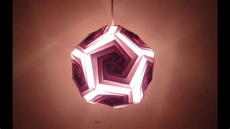 Handmade Diwali Lantern - paper craft diwali decoration ideas beautiful