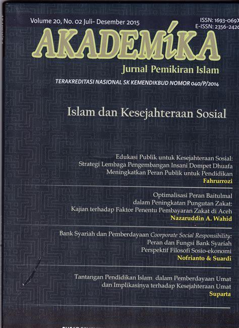 kesejahteraan sosial di indonesia perspektif ekonomi islam