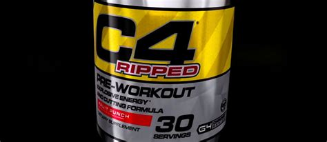 Pre Workout Cellucor C4 Ripped Preworkout Pre Wo 30 Serving c4 ripped the only cellucor c4 without teacor