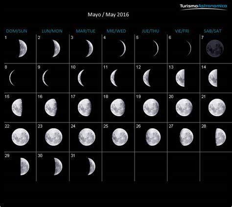 lunas mes de mayo 2016 calendario lunar