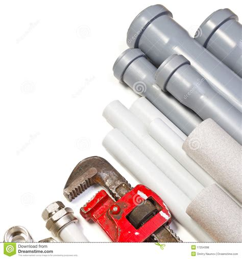 White S Plumbing Supply by Plumbing Supplies Stock Photo Image Of Canalization 17254398