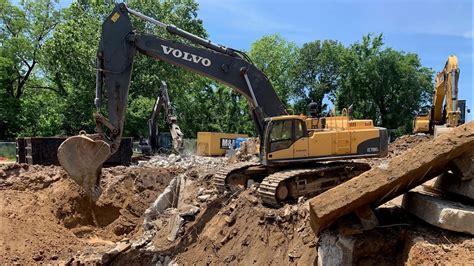 mega machine volvo   excavator  sneak peak youtube
