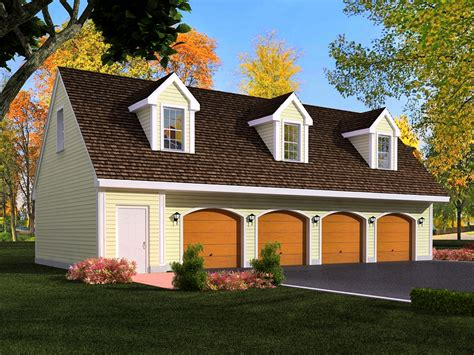 4 car garage with apartment 4 car garage plans from design connection llc house