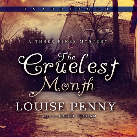 The Cruelest Month hear the cruelest month audiobook by louise for just 5 95
