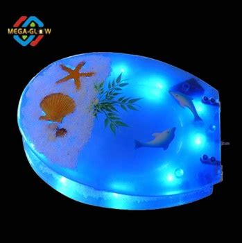 led light toilet seat led blue light toilet seat sale bathroom accesary