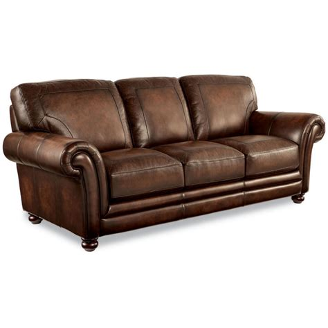 lazboy 710 805 william signature leather sofa home