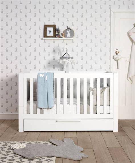 Franklin Cot Bed 3 Piece Nursery Furniture Set White 3 Nursery Furniture Set White